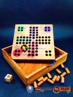 Sale!! Wooden puzzles Ludo marbles games,wooden toys