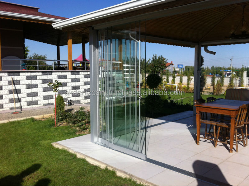 sliding glazing frameless high view ne design