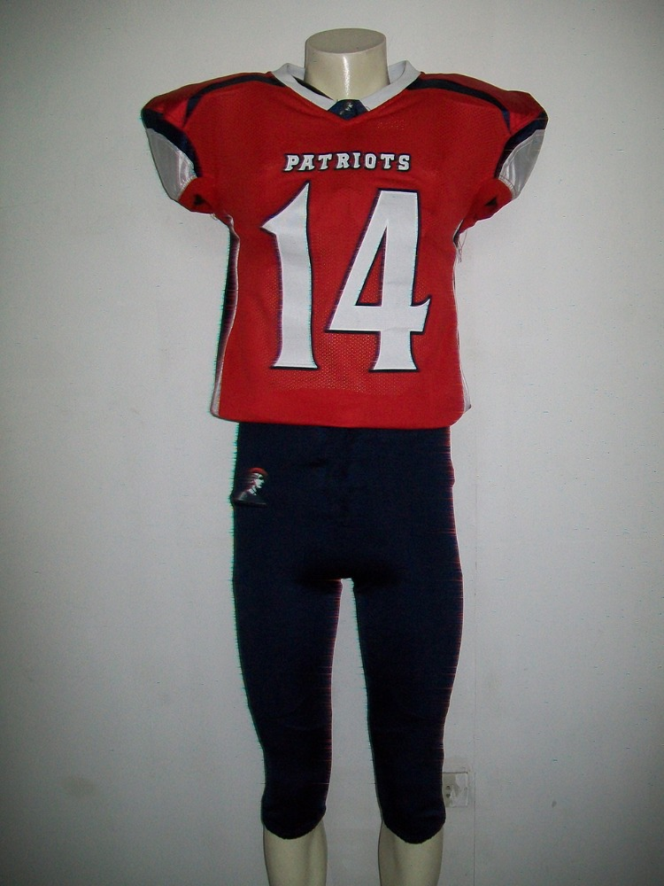 Custom Football Uniforms with Free Tackle Twill