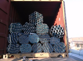 Galvanized welded / Unwelded Steel Curtain pipes