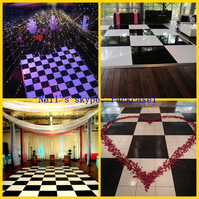 Promotion! aluminium edged dance floor for wedding ceremony