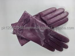 Coach Leather Driving Gloves.