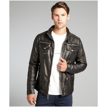 Leather Fringed Cropped Western sexy Cowgirl jacket/Men Motorbike racing Leather