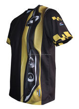 Polyester Dri Fit Sublimation Top Cool Polo Shirt And T-Shirt