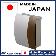best-selling and high quality wall mounted aluminum mailbox with high performance made in Japan
