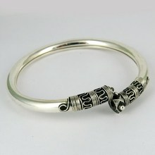 Glamour Bangle Jewelry !! Oxidized Silver 925 Indian AJ Jewelry