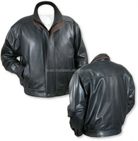 wool leather bomber jackets , Original leather bomber jacket , custom black leather bomber jacket mens leather
