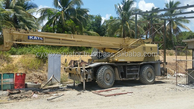 USED KATO ROUGH TERRAIN CRANE KR25H (whatsapp: 0086-15800802908)