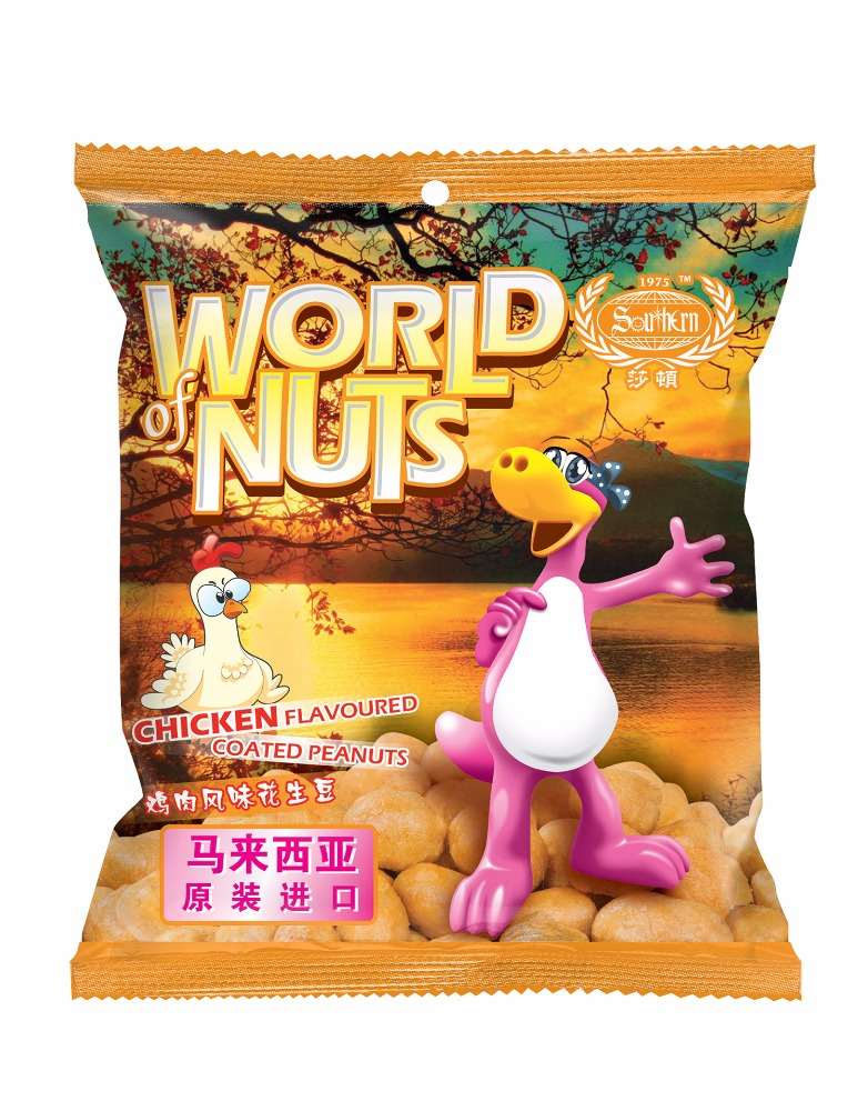 Southern Coated Peanuts with Chicken Flavoured