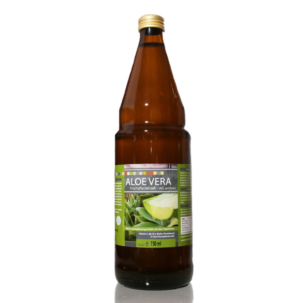 Aloe Vera Juice 99,6% - Private Label Possible - MEDICURA