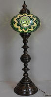 89569 Turkish Moroccan Mosaic Table Bedside Desk Lamp New
