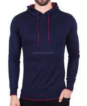 New Arrival 2017 Mens slim fit gym hoody sweatshirts man outdoor body building cheap dri fitted plain sweatshirt hoodie shirt