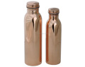 100% Pure Copper Bottle Set of 2 | Copper Bottle 600ml , 900ml