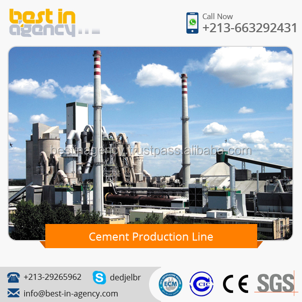 High Quality Cement Plant Cement Refractory Cement Production Line