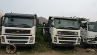 Left-Hand-Drive 8*4 Sweden 40ton used Volvo FM8 Tipper/Dump Truck