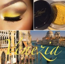 #21 Venezia Eye Shadow Powder From Da Vinci Cosmetics - Yellow Shadow
