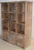 Wooden Wine Bottle Display Cabinet