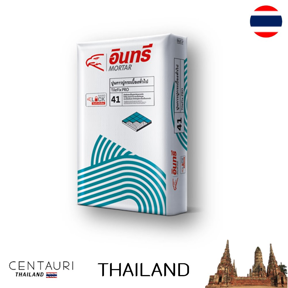 great 20 kg bag new Thai cement tile adhesive and 20 kg bag early cement tile adhesive from Thailand
