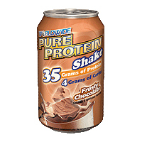 Pure Protein Shake, Chocolate 4/11 Oz by Worldwide Sport Nutrition