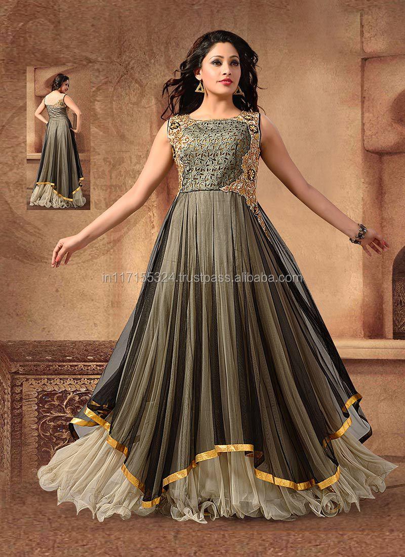 Indian Clothing Fancy Fashion Long Anarkali Suits Buy