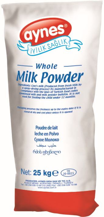 AYNES WHOLE MILK POWDER