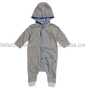 Baby Romper with Hooded
