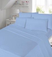 Polycotton Duvet Cover Set with Pillowcases