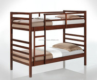 Malaysia Wooden Bunk Bed, Double Decker Bedroom Furniture