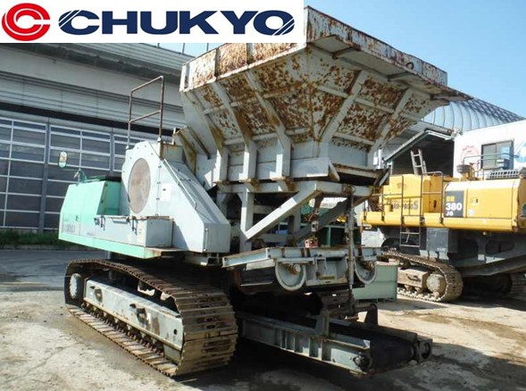 Used Komatsu Mobile Jaw Crusher BR200J <SOLD OUT>