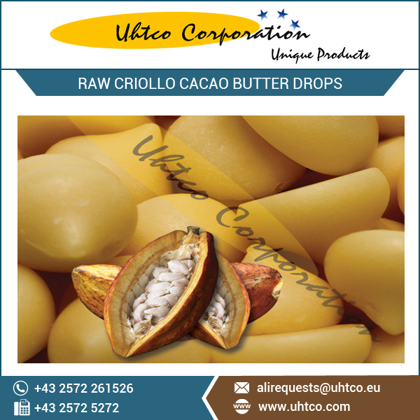Cacao XP Raw Criollo Cacao Butter Drops