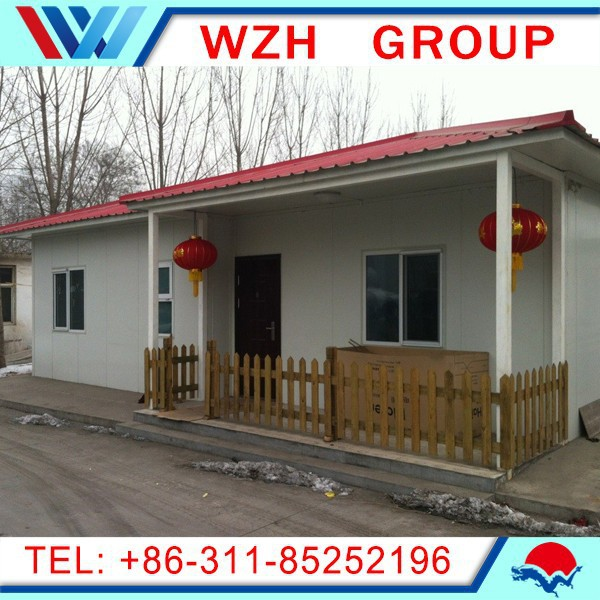 Low cost and easy assemble prefabricated house made in China / house plans house