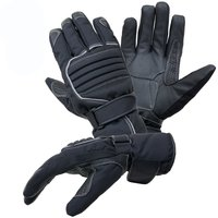 Juicy Trendz New Heavy Duty Winter Textile Leather Biker Motorcycle Motorbike Waterproof Gloves Collection