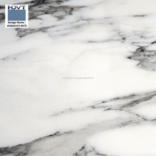 Digital Ceramic Glaze Vitrified Tiles for Bathroom, Kitchen, Living Room, etc Arabascato White
