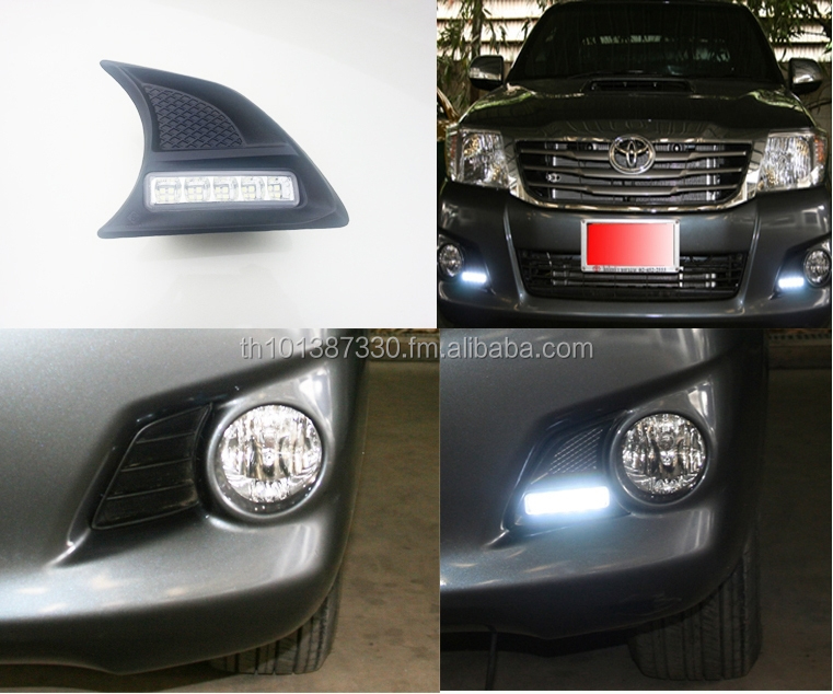 DAY TIME RUNNING LIGHT FOR TOYOTA HILUX VIGO CHAMP