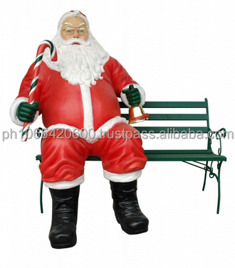 Santa Claus Life Size Figures. More than 100 Designs Available!