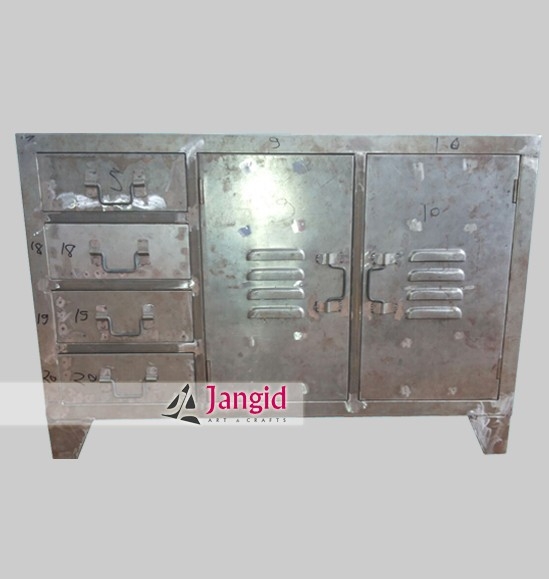 manufacturer exporter of metal indian furniture / industrial style sideboards