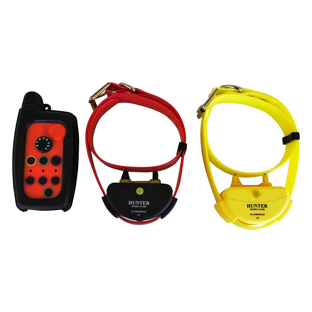 WATERPROOF REMOTE DOG TRAINER DOG SHOCK COLLAR FOR HUNTING RANGE UP TO 2,000 METER