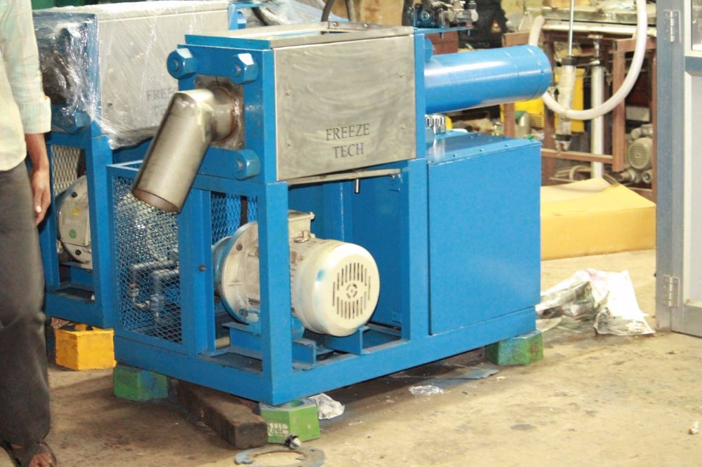 Dry Ice Pelletizer machine