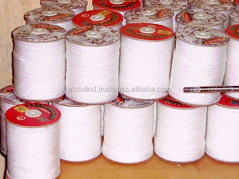 PP BRAIDED CORD for CURTAIN TRACK RAILING & BLINDS