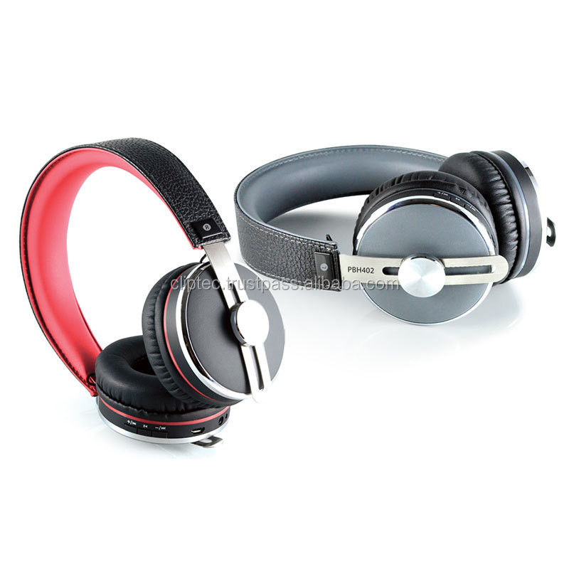 AIR-LEATHER Bluetooth 3.0 wireless Stereo Headset - Retail Pack