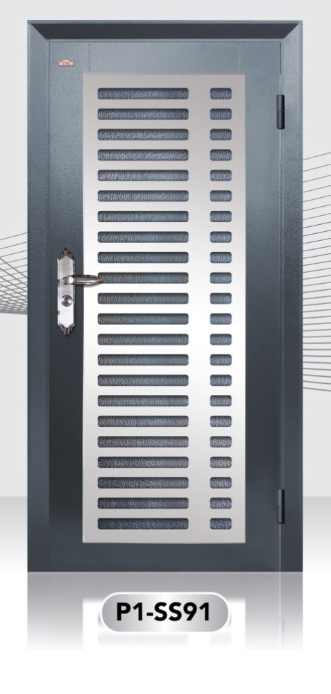 Best price Stainless Steel Design Security Door Made from Malaysia