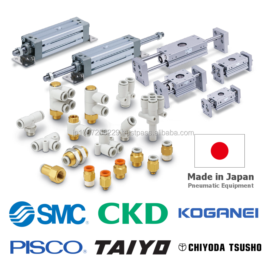 High-performance and Reliable CKD solenoid valves, SMC/KOGANEI/PISCO also available