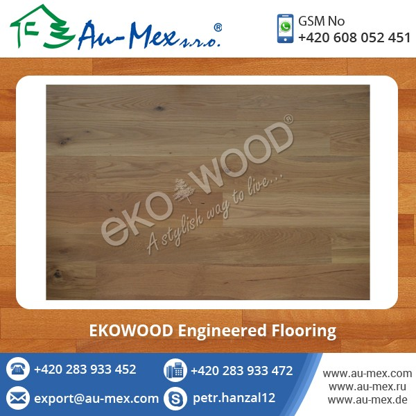 Engineered Wood Flooring - Top Deals at Factory Price