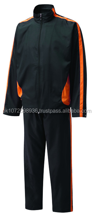 Sports Jogging Suit / 100% Polyester Custom Design Tracksuit