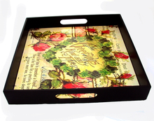 WHOLESALE FINE QUALITY DESIGNER WOODEN VALENTINE GIFT SERVICING TRAY