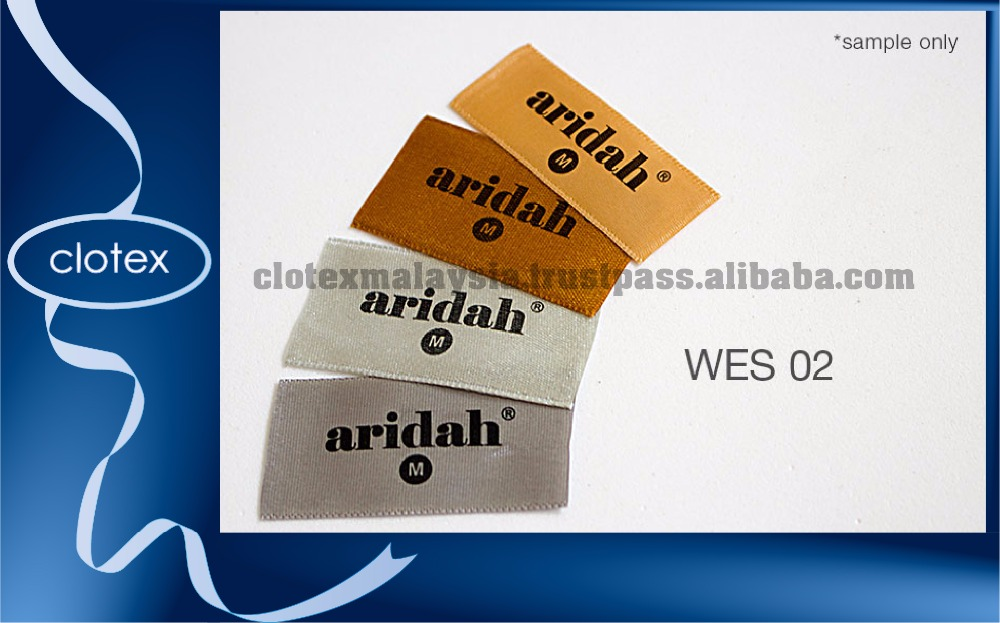 Woven Edge Single Labels