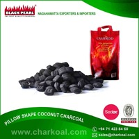 Chemical Free BBQ Pillow Shape Charcoal for Food Making