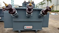 11/0.433kv 3 Phase 25 Kva Amorphous Core Distribution Transformer - BIS Energy efficiency Level III - OIL cooled