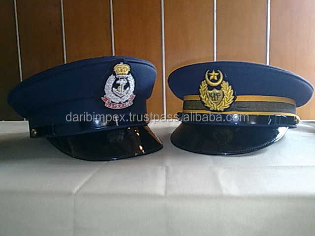 Germany Embroidery Cap Police Military Hats