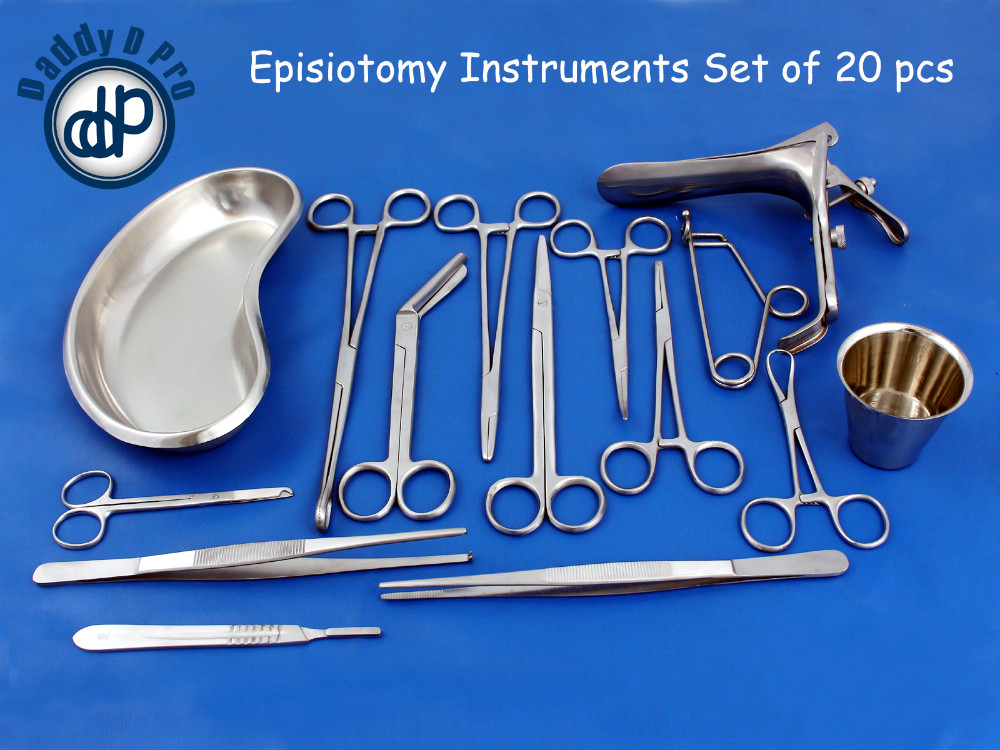 EPISIOTOMY INSTRUMENTS SET OF 20 PCS
